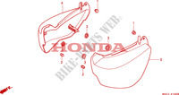 COUVERCLE LATERAL Chassis 750 honda-moto VF 1996 F__1600
