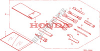 OUTILS Chassis 750 honda-moto VF 1996 F__3000
