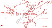 PEDALE Chassis 750 honda-moto VF 1996 F__1900