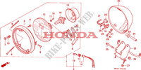 PHARE pour Honda SHADOW 750 de 1994