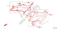 COUVERCLE LATERAL Chassis 1000 honda-moto CBF 2012 F_24