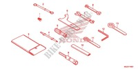 OUTILS Chassis 500 honda-moto CB 2013 F_48