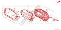 COMPTEUR Chassis 500 honda-moto CB 2013 F_02