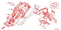 GARDE-BOUE ARRIERE Chassis 500 honda-moto CB 2013 F_34