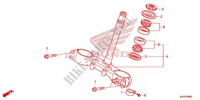 TIGE DE DIRECTION Chassis 250 honda-moto CRF 2013 F_09