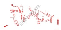 BEQUILLE Chassis 110 honda-moto DIO 2013 F_35