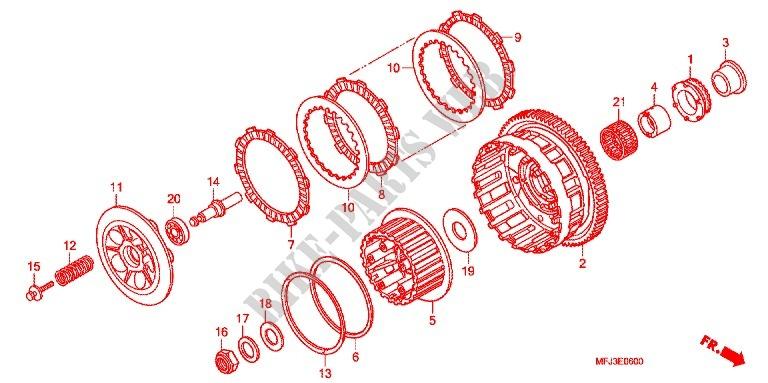 CBR600RR PC40 BRUIT MOTEUR EMBRAYAGE-Honda-MOTO-600-CBR-2008-CBR600RR8-E_06