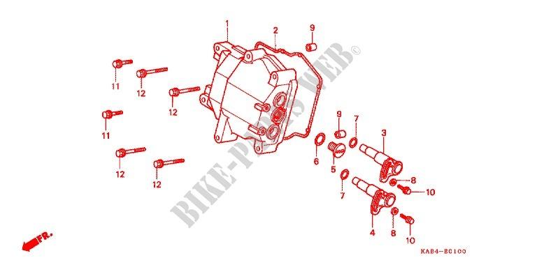 buggy Dazon 250 COUVERCLE-DE-CULASSE-Honda-SCOOTER-250-ELITE-1990-CH250L-E_01