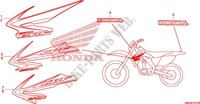 MARQUE (CRF250X'08,'09,'11,'12) Chassis 250 honda-moto CRF 2009 F_31_1