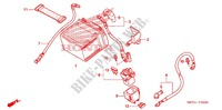 BATTERIE Chassis 450 honda-moto CRF 2008 F_25