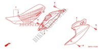 SIEGE/COUVERCLE LATERAL Chassis 450 honda-moto CRF 2008 F_15